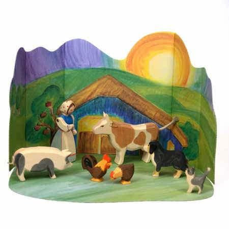 Ostheimer Farm Set with Diorama