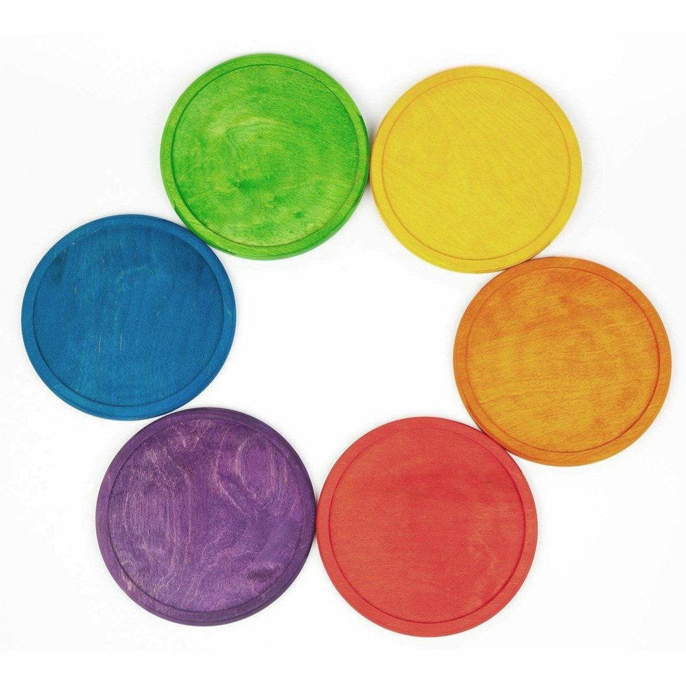 Grapat 6 Rainbow Dishes