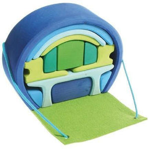 Grimm's Mobile Home - Blue/Green