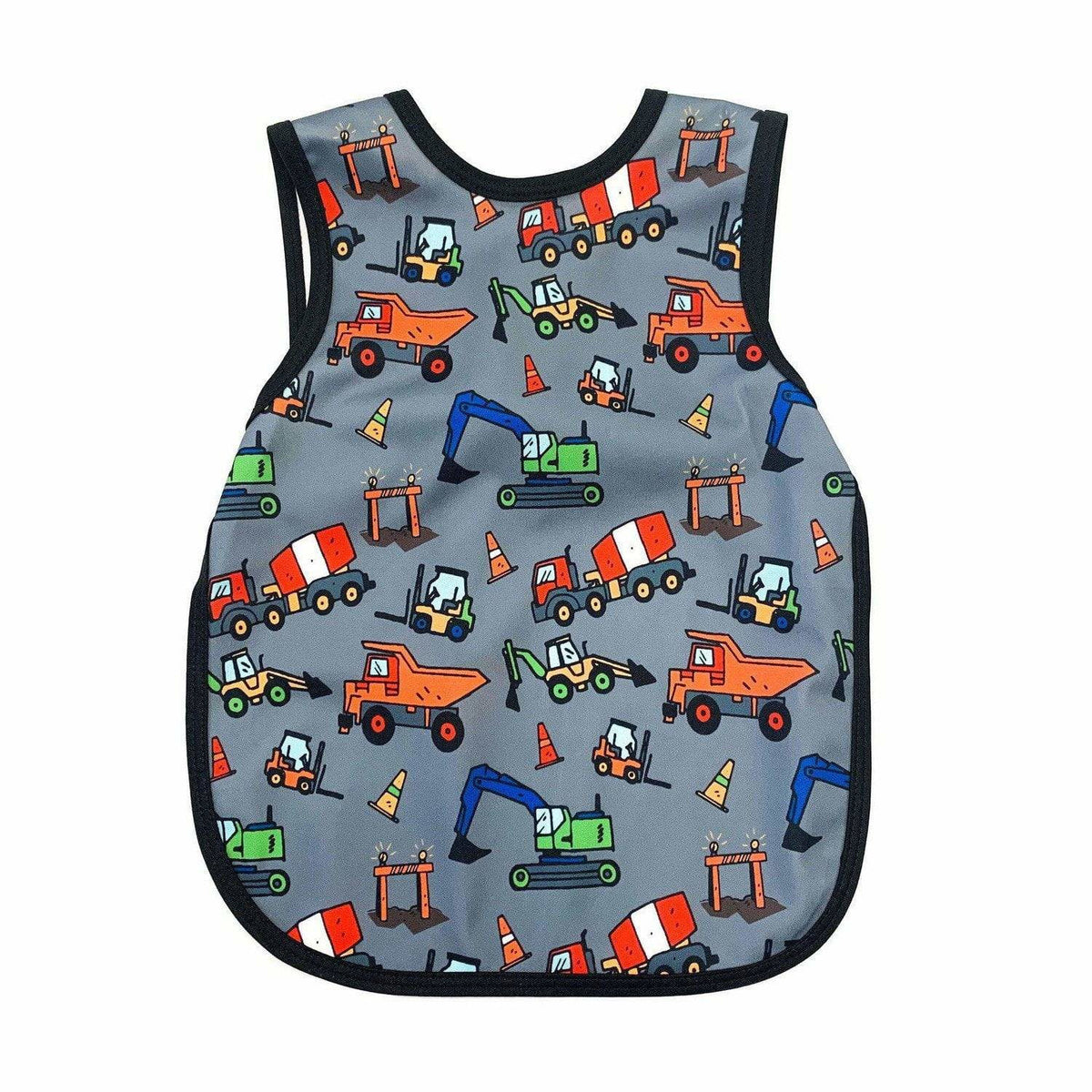 Construction Zone Toddler Bapron