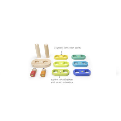 Tegu Magnetic Floating Stacker- Rainbow