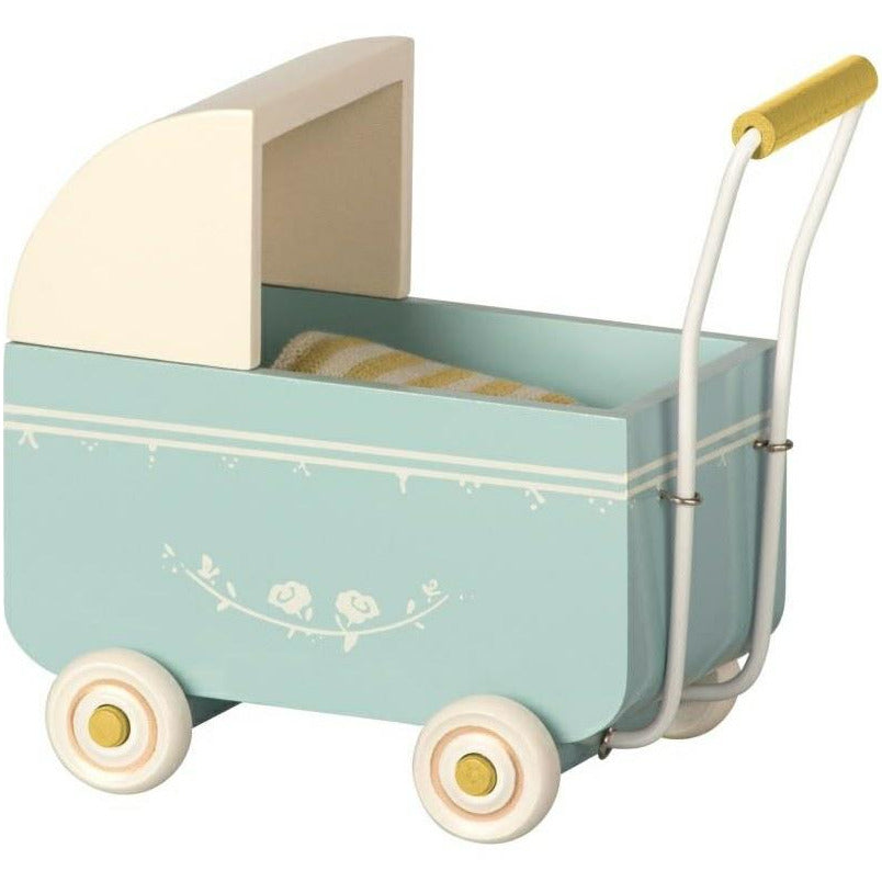Maileg My Pram Blue