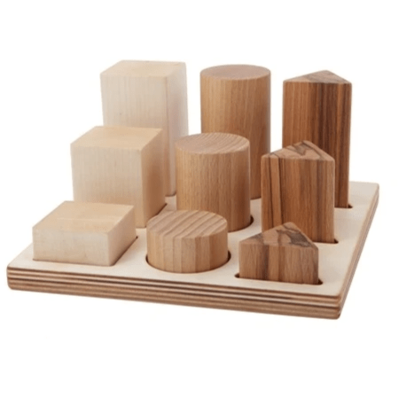 Wooden Story - Natural Shape Sorter Board XL