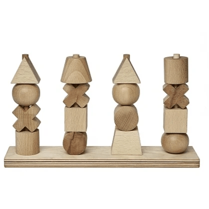 Wooden Story - Natural Stacking Toy XL