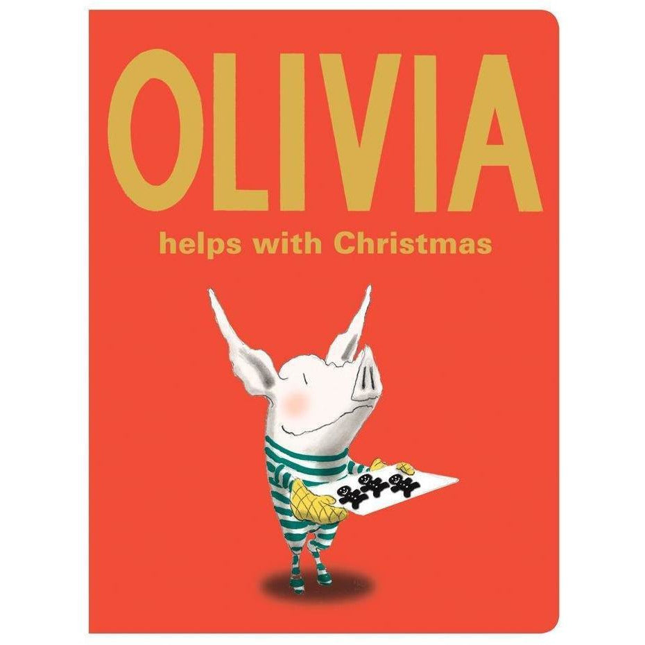 Olivia Helps with Xmas Board Book