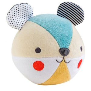PetitCollage Bear Organic Soft Chime Ball