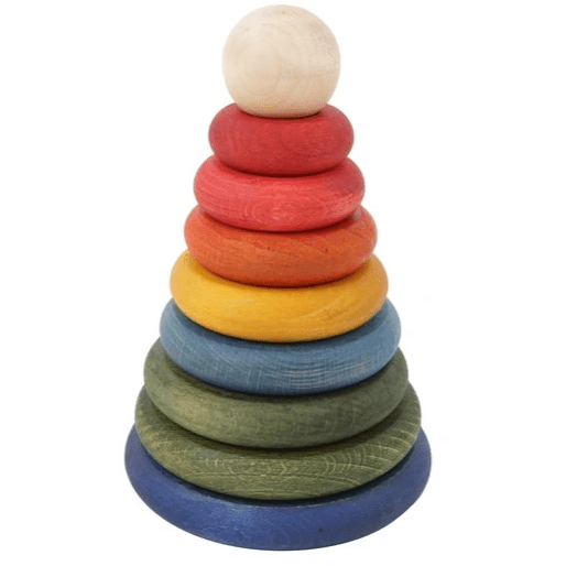 Wooden Story - Rainbow Stacker