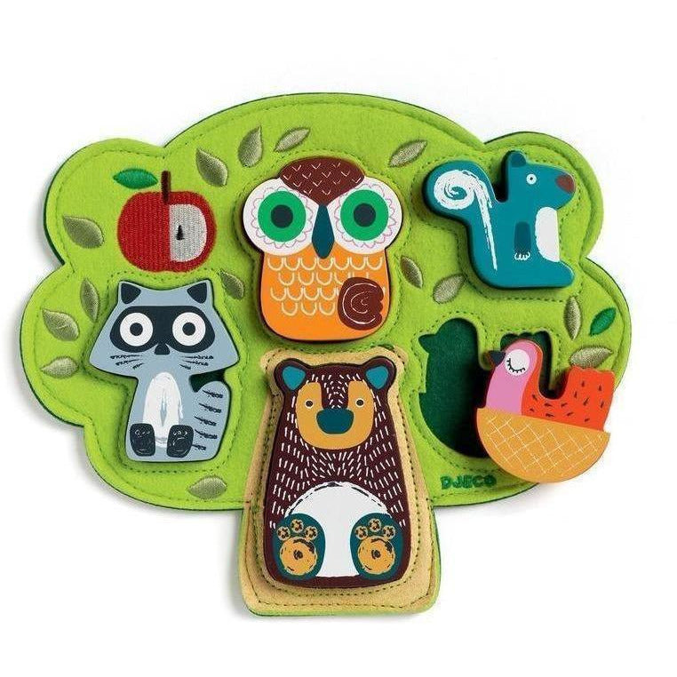 Djeco First Puzzle Oski