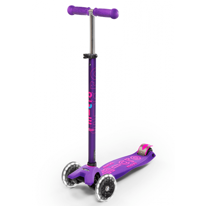 Micro Kickboard Maxi Deluxe with LED Wheels