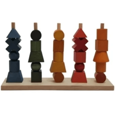 Wooden Story - Rainbow Stacking Toy