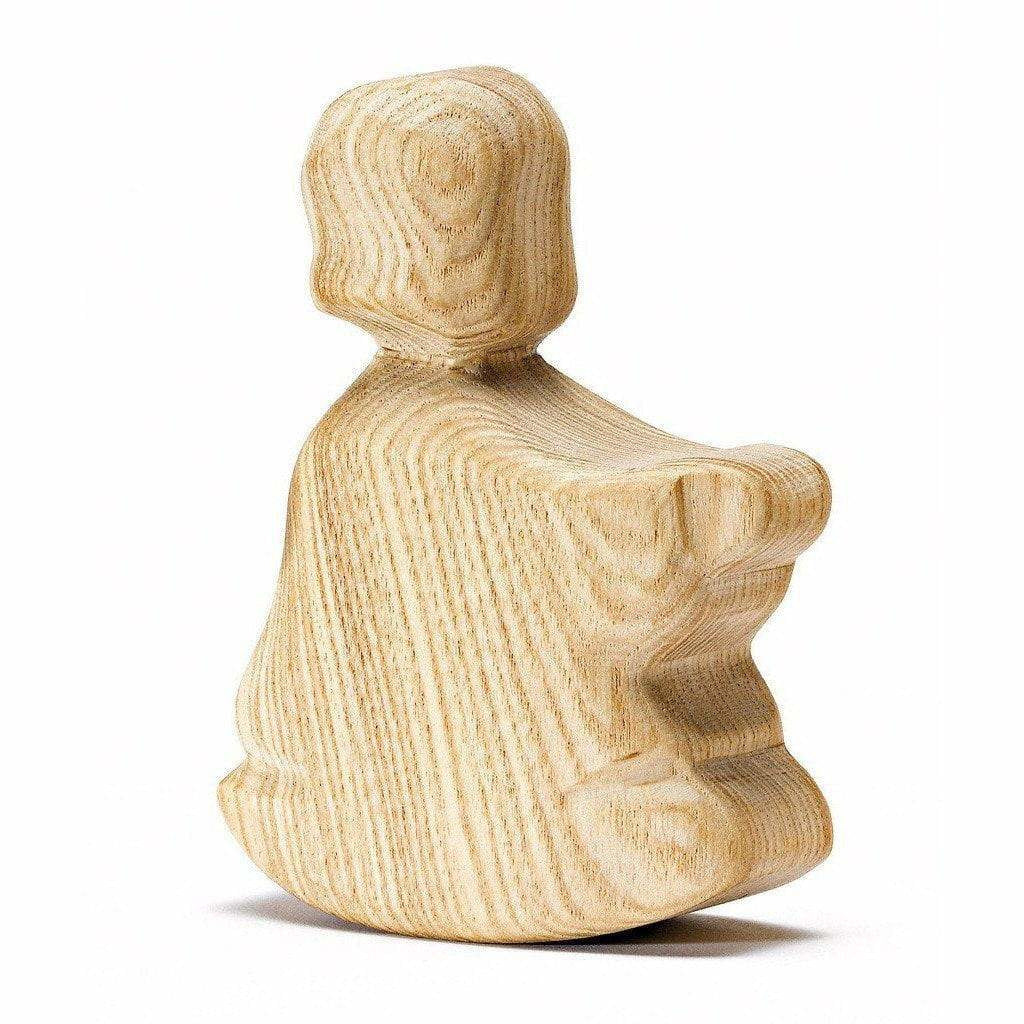 Ostheimer Natural Wood Rocking Boy