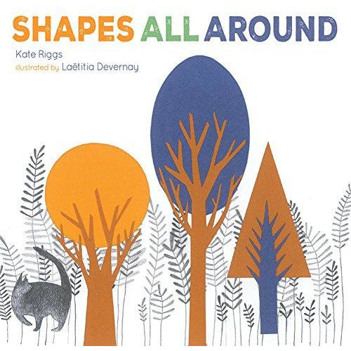 Shapes All Around Board Book
