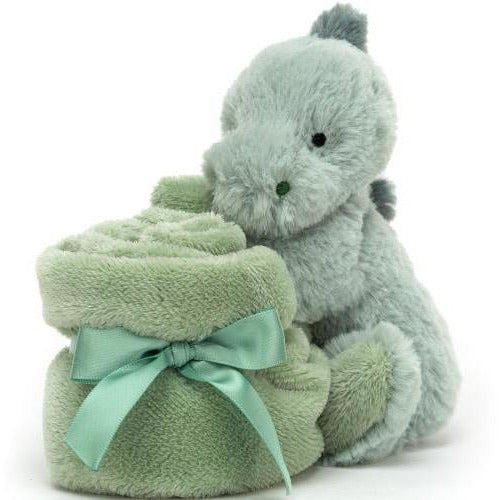 Jellycat Puffles Dino Soother