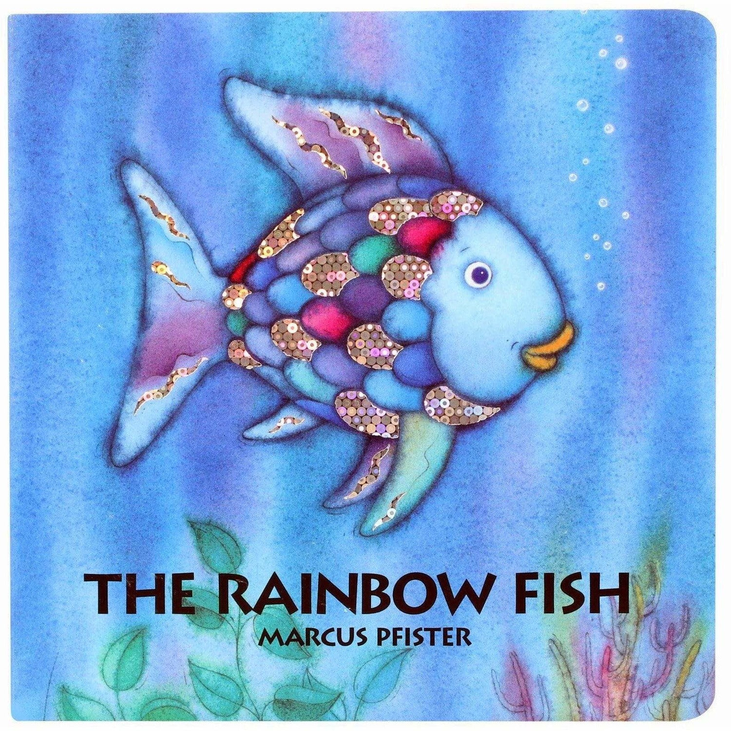 Rainbow fish board book the natural baby company for The rainbow fish
