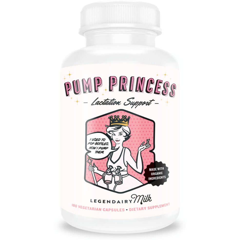 Legendairy Milk - Pump Princess 180 caps