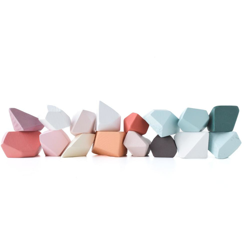 Rock Blocks- 16 Piece Set: Valencia