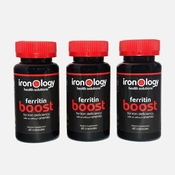 Ironology Boost Starter Kit / for iron deficiency with or without anemia