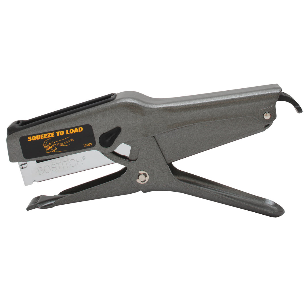 HEAVY-DUTY STAPLING PLIER, 7/16 IN CROWN 3/8 IN POWERCROWN STAPLING PLIER