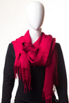 Ribbed Cherry Hijab