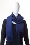 Ribbed Midnight Blue Hijab