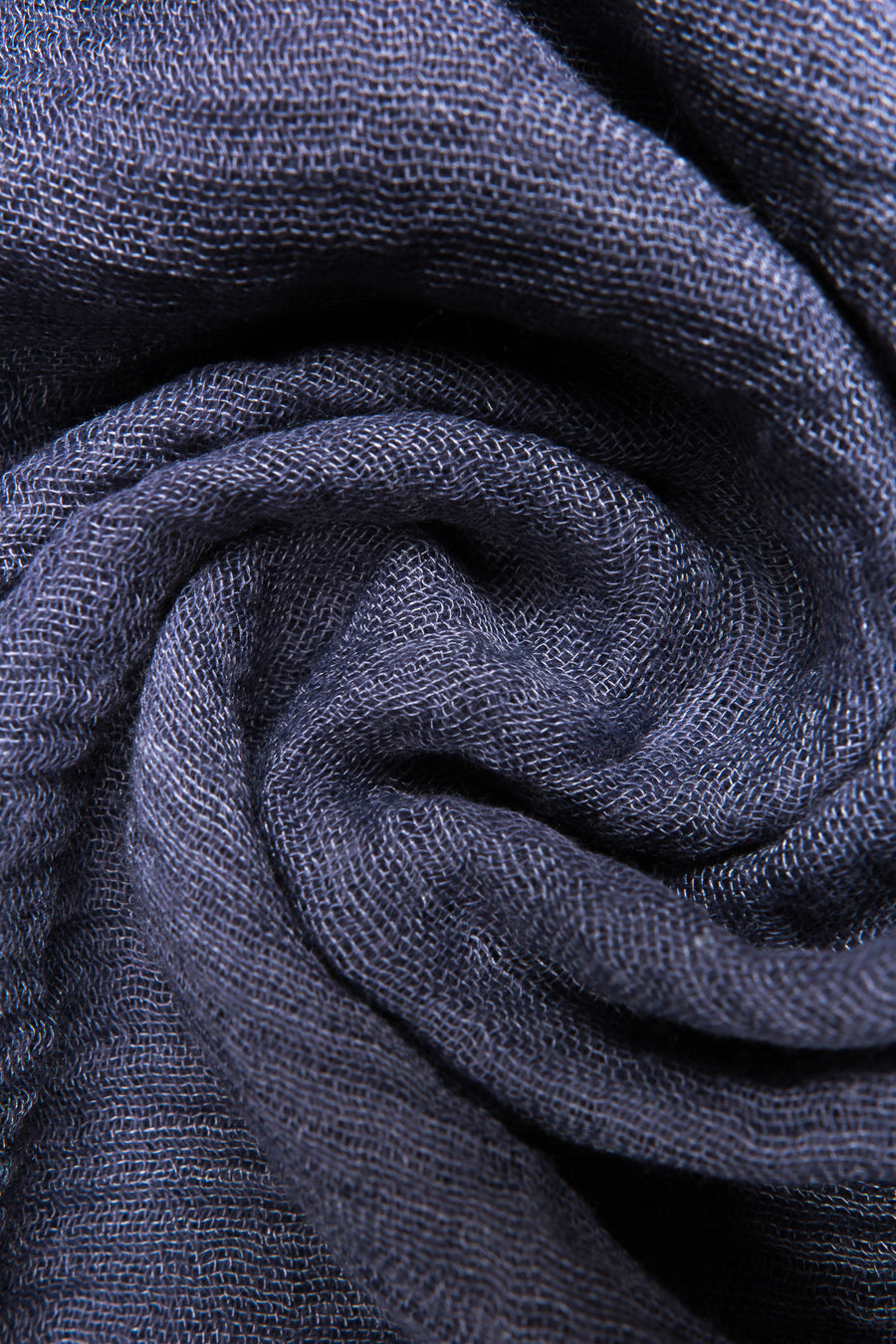 Soft Weave Crinkle Light Navy Hijab