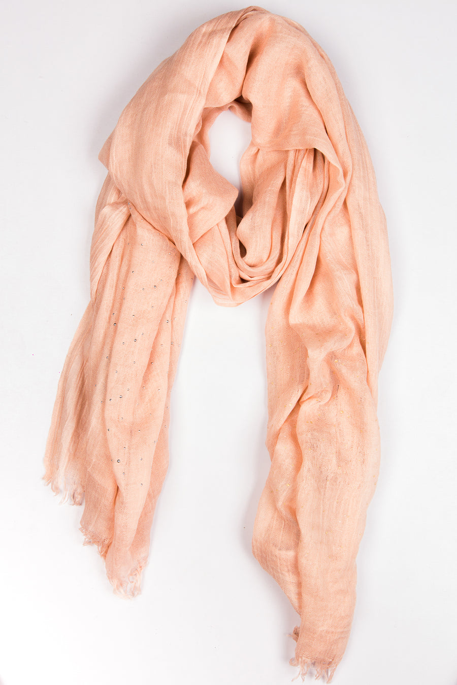 Sparking Viscose Faint Peach Hijab
