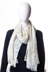 Knit In Knit Collection Dim White Hijab