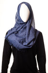 Sparking Viscose Denim Hijab