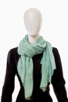 Plaid Peridot Green Hijab