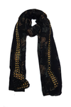 fancy printed georgette black hijab (1)