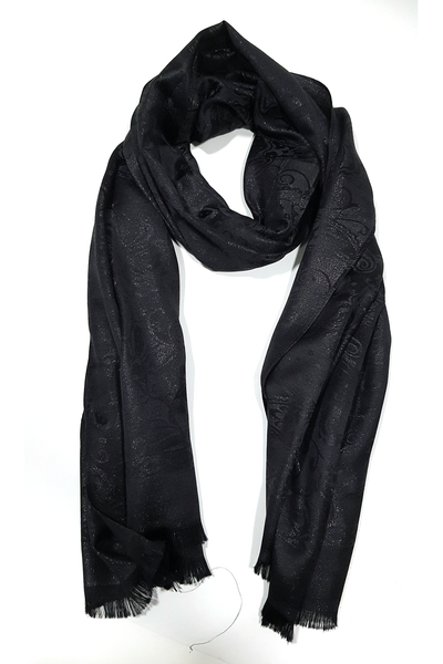 Shimmery Casuals Black Hijab