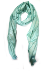 Shimmery Casuals Sea Green Hijab