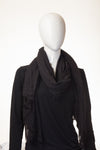 Semi Viscose Midnight Black Hijab