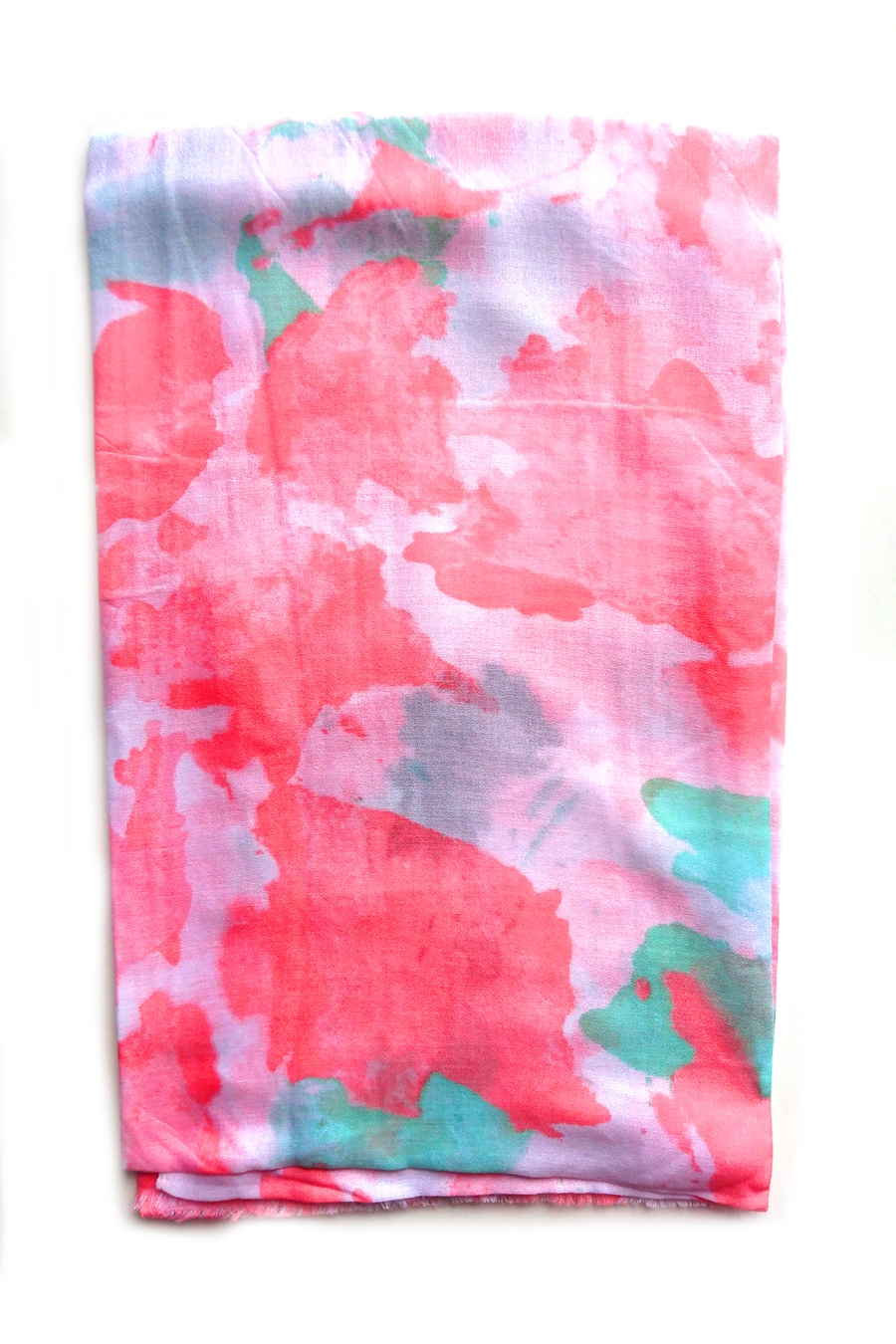 Turkish Printed Pinkish Hijab