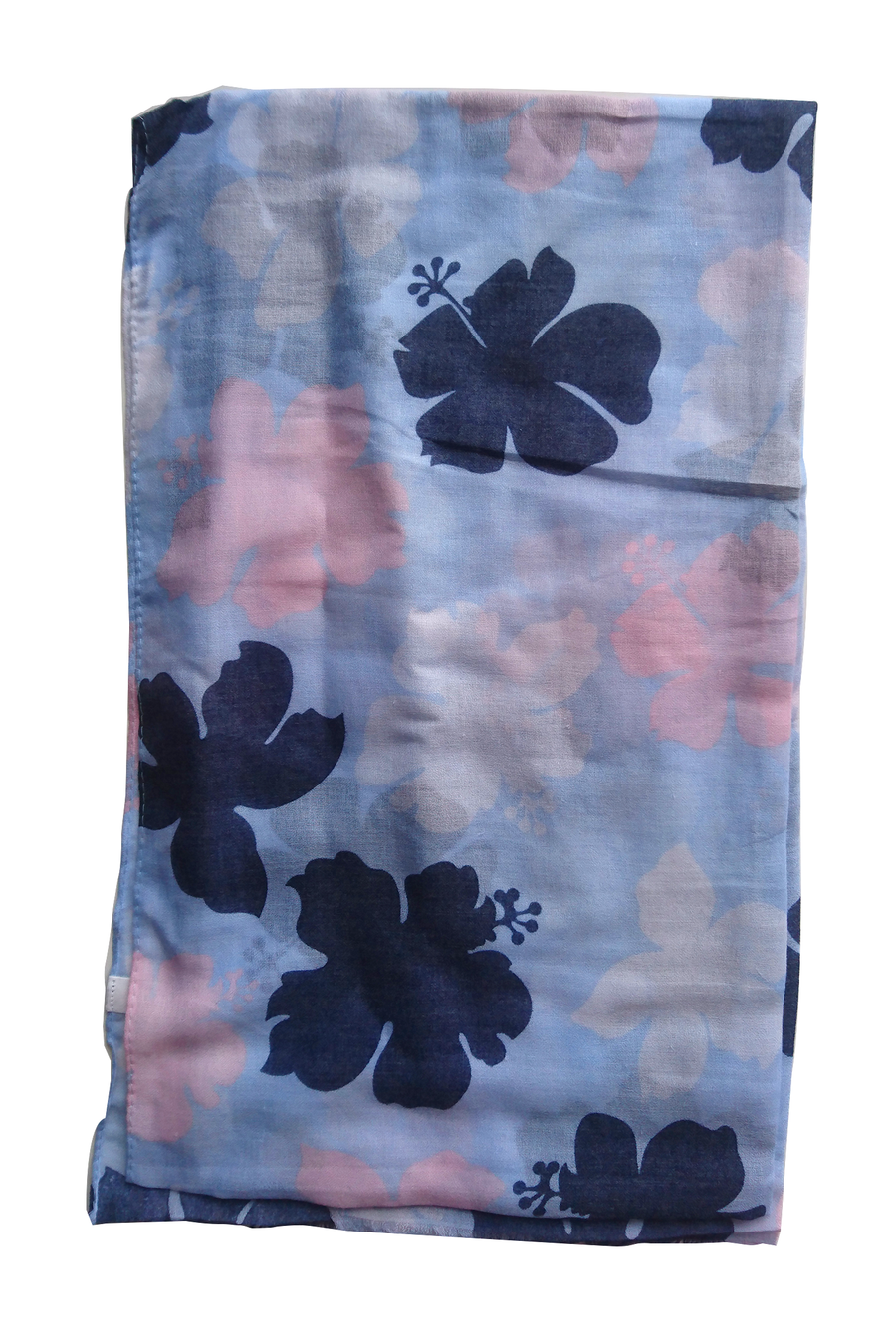 Turkish Printed Big petals hijab B