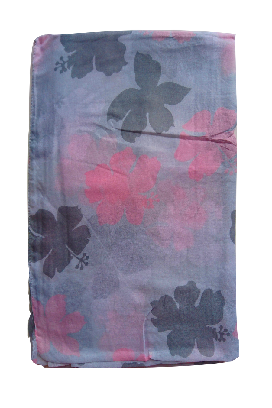 Turkish Printed Big petals hijab C