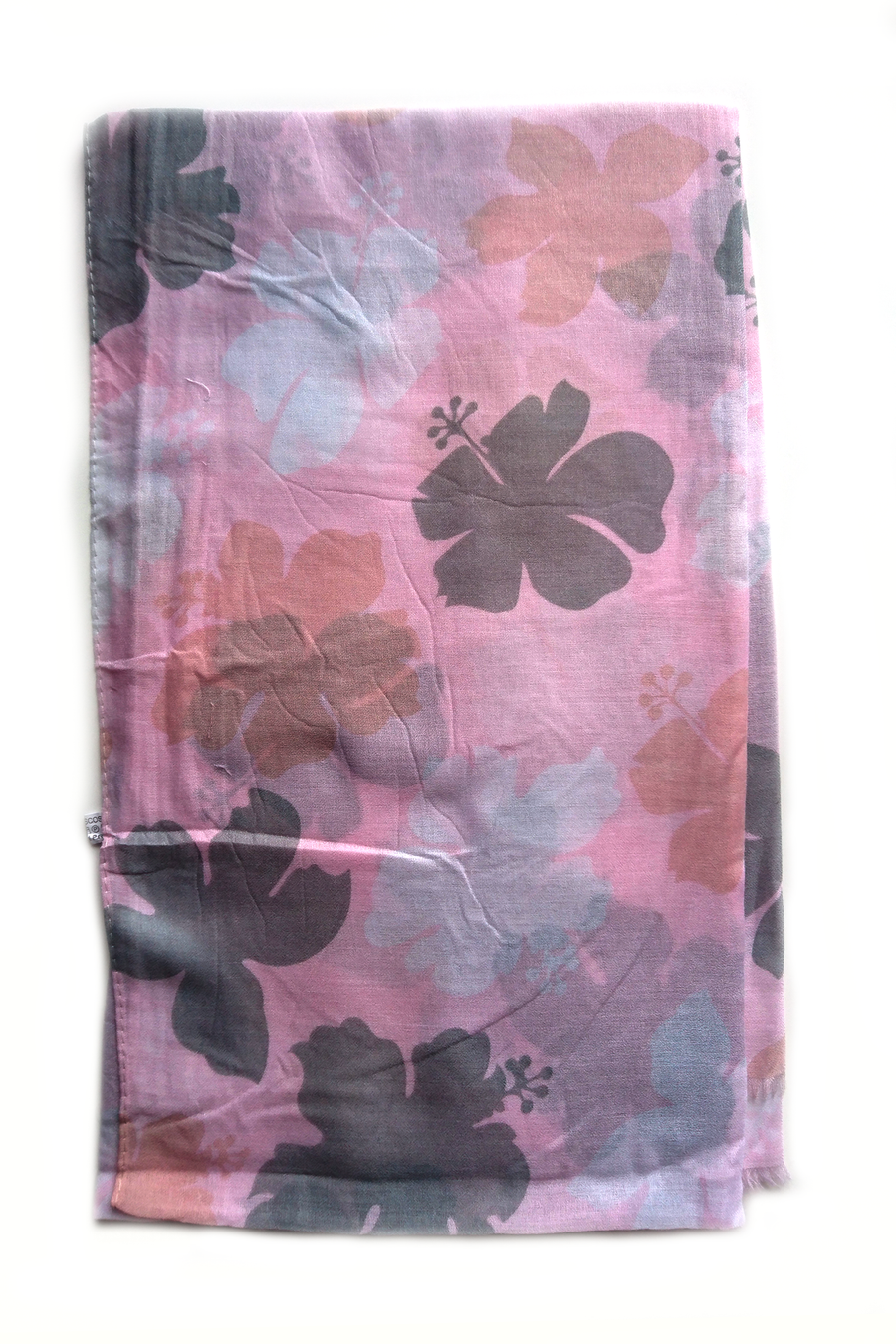 Turkish Printed Big petals hijab D