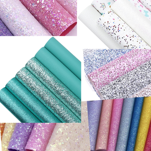 10 x A4  leatherette, suedette jelly ,glitter fabric pack