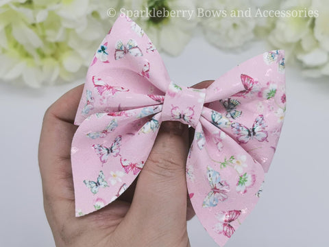 Emily  pinch plastic hair bow template 3inch