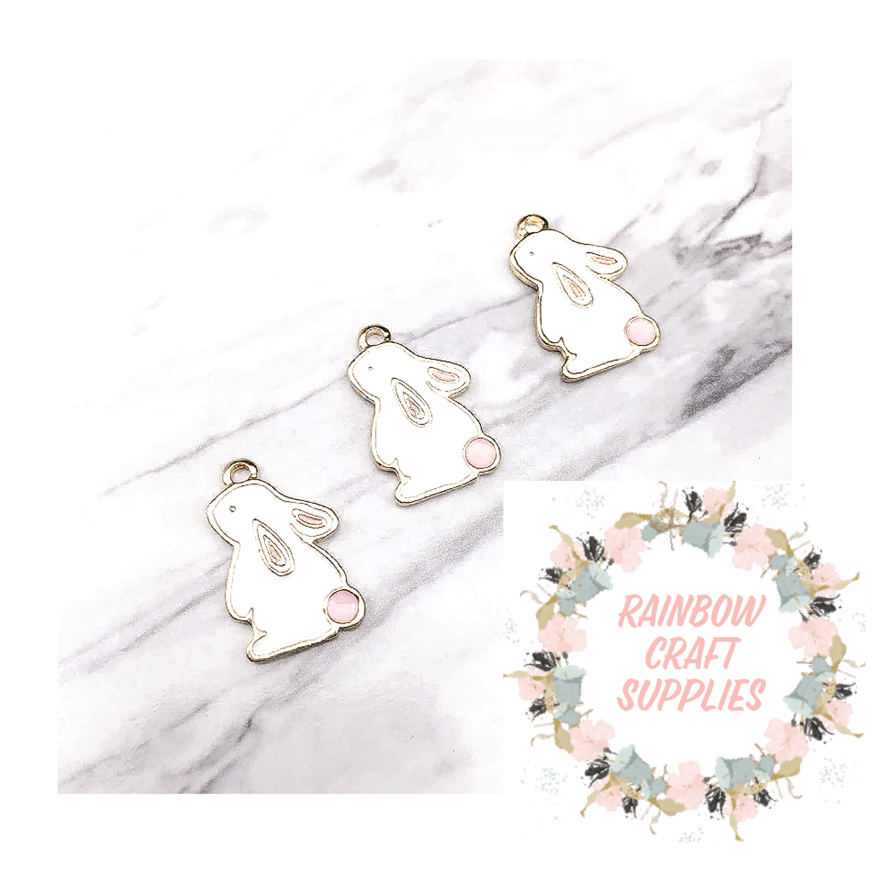 Sweet Bunny rabbit charms