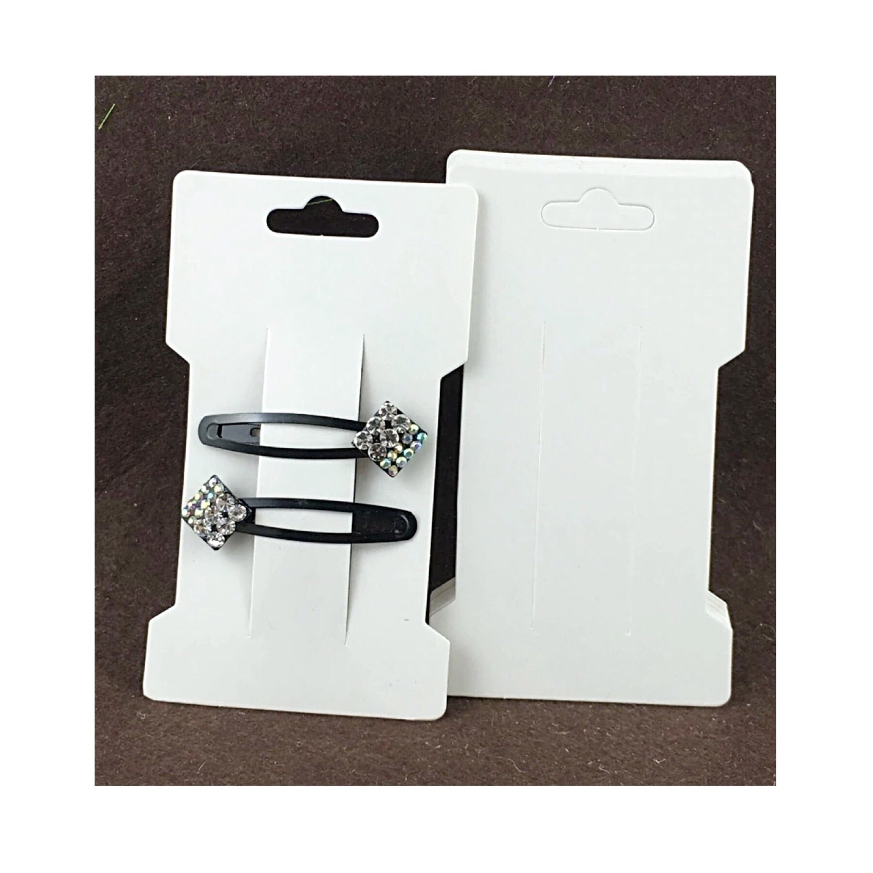 "10 x  white 4.75"" bow display cards"