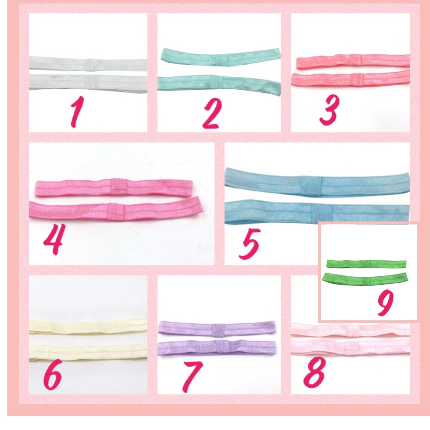 Soft foe head band 6-12 months