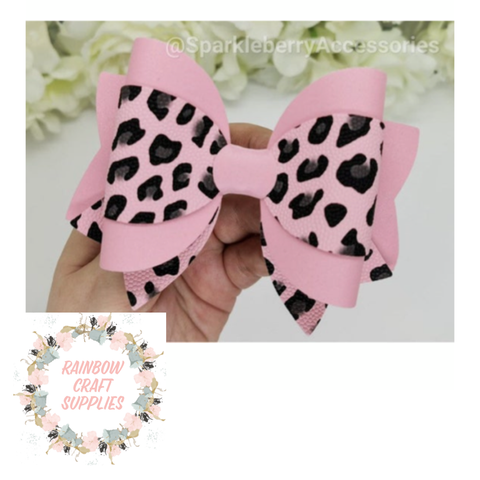 4 piece Layla triple layer bow template DIGITAL DOWNLOAD