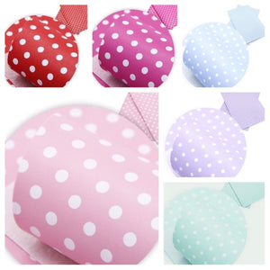 Luxury litchi soft leatherette fabric polka dot A4 (6 beautiful colours)