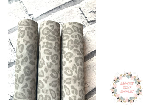 Baby grey suedette fabric A4