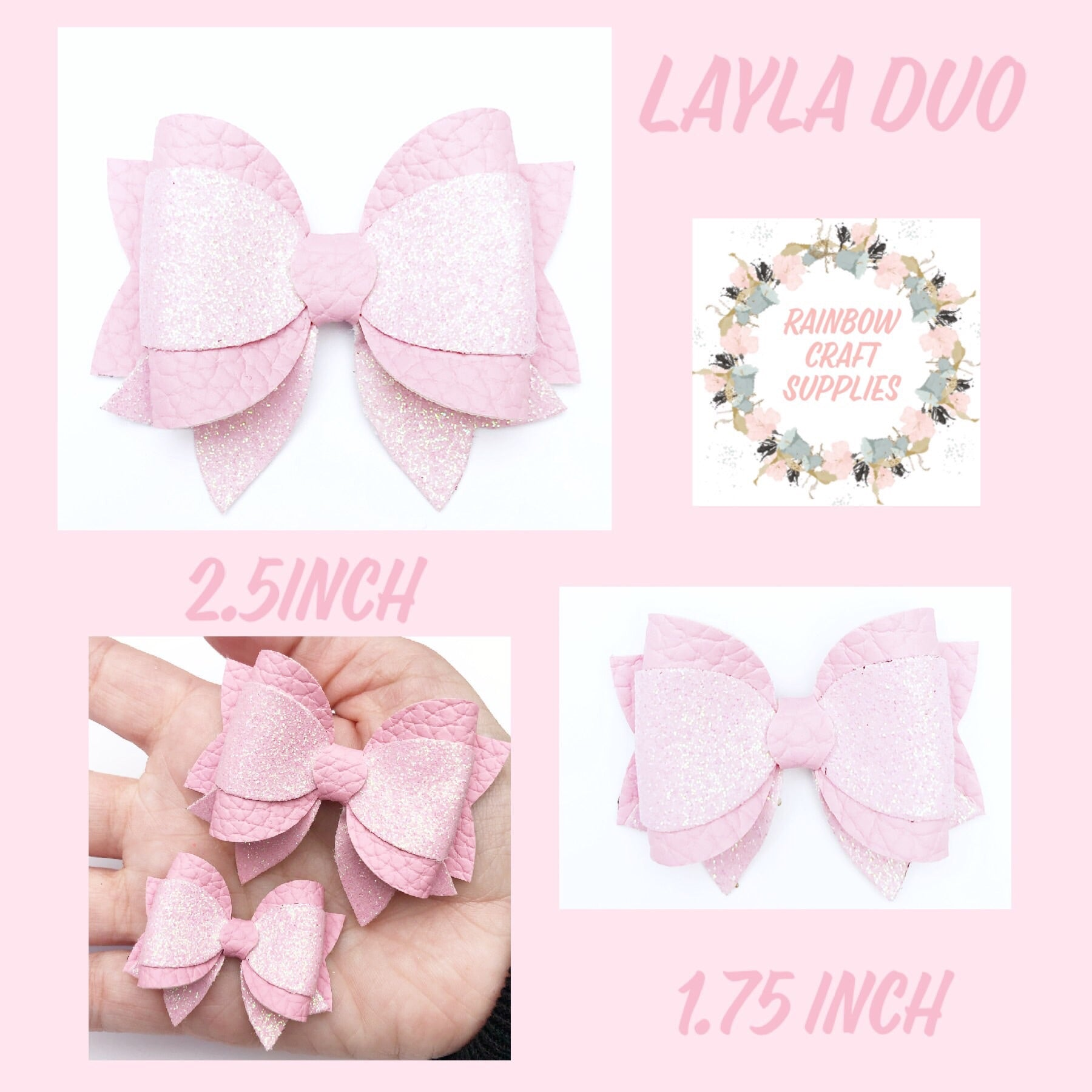 Layla duo plastic template