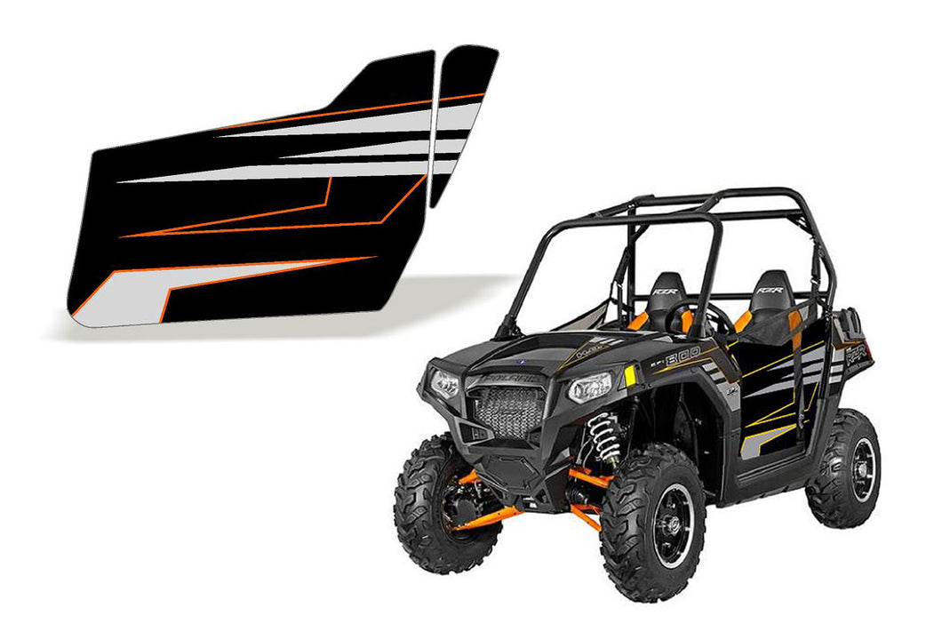 UTV Doors 2014 RZR 800 LE Orange Madness