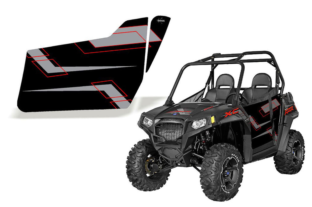 UTV Doors 2014 XC 800 Black Red & Gray