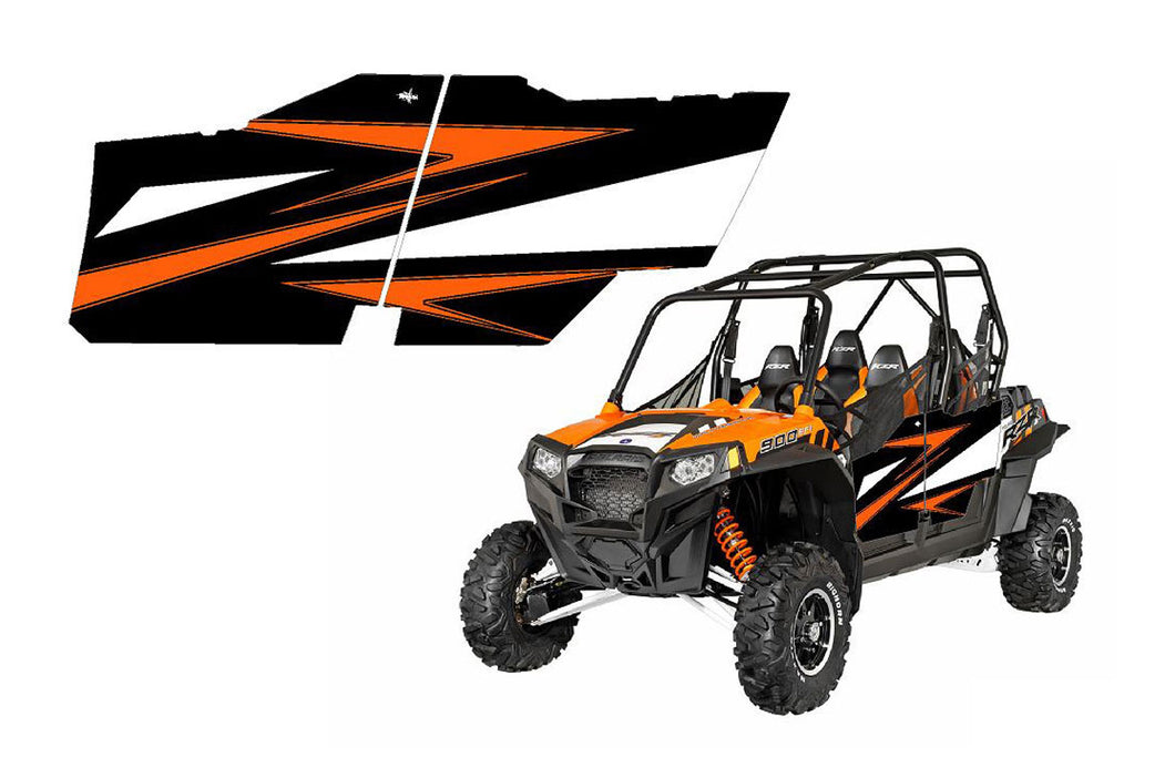 UTV Doors 2014 Polaris Rzr 900 XP4 Orange