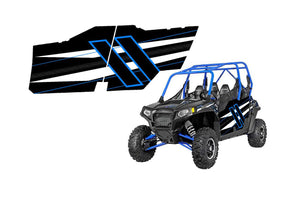 UTV Doors 2014 Polaris Rzr4 800 Voodoo Blue 2